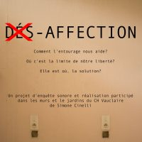 DES-AFFECTION de Simone Cinelli